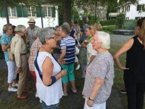 Juli 2017- Ökumenische Abendfeier im Labyrinth