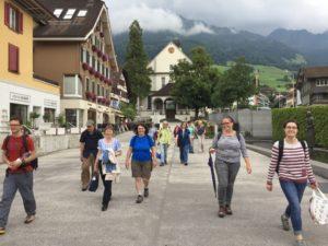 Juli 2017 Mitarbeiter-/innen-Ausflug Flüeli Ranft