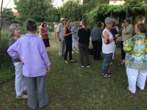 Juli 2017 - Ökumenische Abendfeier im Labyrinth